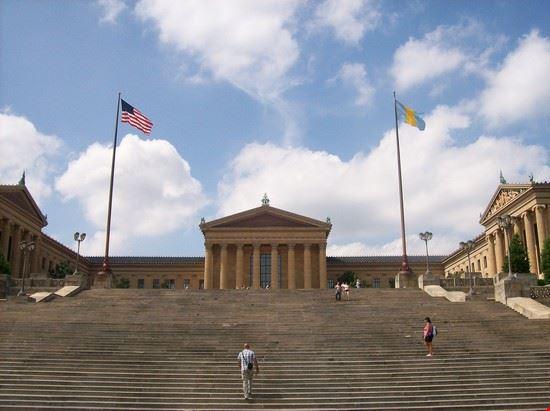 Foto la scala di rocky a philadelphia 550x411 autore alessandra scura - Immagini di scale ...