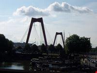 veduta di Rotterdam