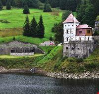 a small dam and power plant in spindleruv mlyn spindleruv mlyn