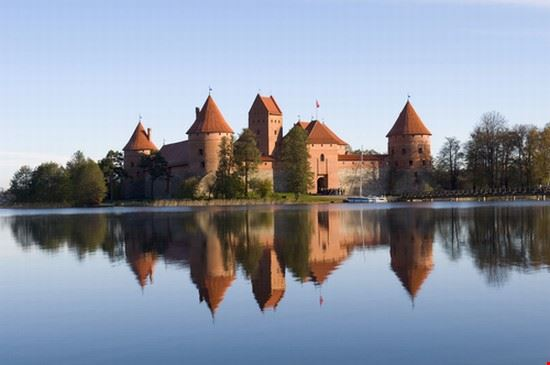Island castle in Trakai