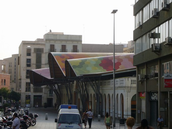 Foto barcelona santa caterina market a barcellona for Villaggi vacanze barcellona