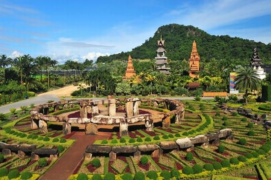 tropical garden in pattaya pattaya