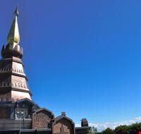 The pagoda in Doi Inthanon, Chiang Mai