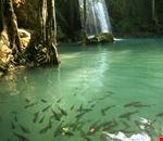 waterfall eravan kanchanaburi