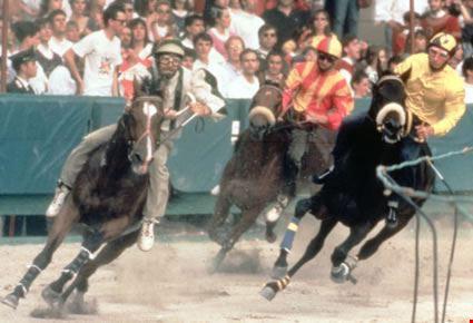 Palio di San Giorgio, la corsa dei cavalli