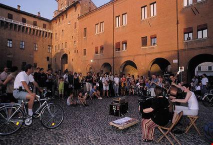 Musicisti di strada al Ferrara Buskers Festival
