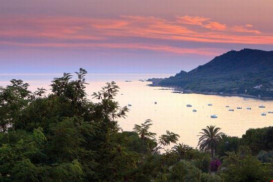 The bay of Tiuccia