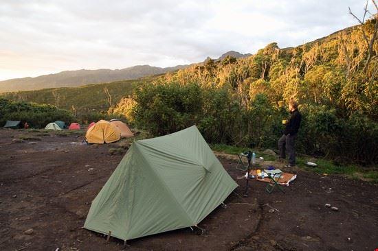 tents on mount kilimanjaro