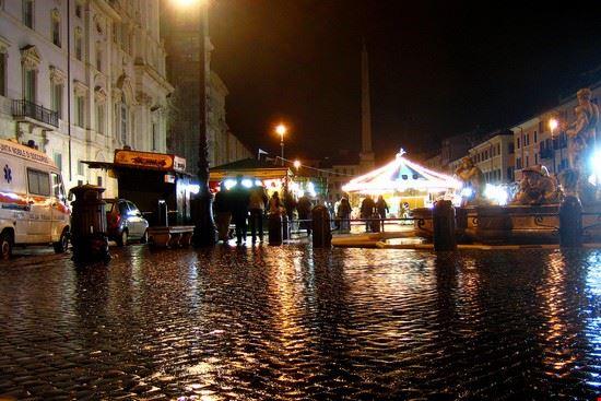 28491 rome piazza navona by night