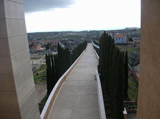 panorama dalla chiesa di san pio san giovanni rotondo