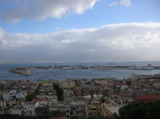 Foto panorama dal sacrario di cristo re a messina 550x411 autore gaetano francesco rodi - Casa della moquette messina ...