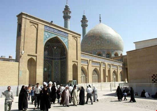 hazrat fatimah mosque qom