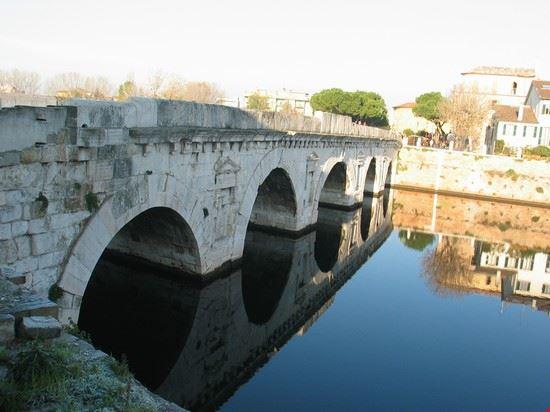 rimini tiberius bridge rimini
