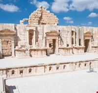 southern of amphitheatre jerash