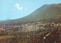 Panorama con il Monte Gennaro m. 1271