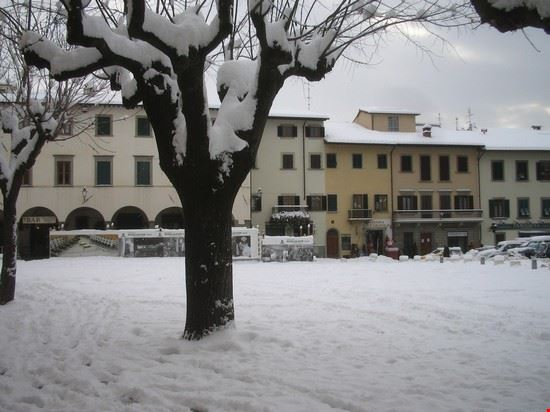Neve in piazza