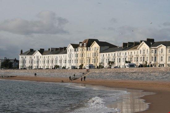 Beachfront Promenade and Hotels