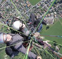 Paraglider in Interlaken