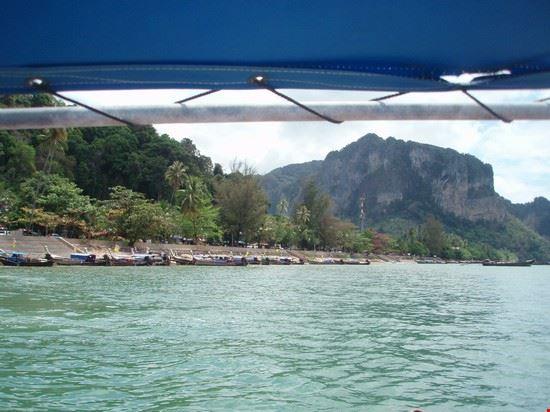 krabi dalla barca