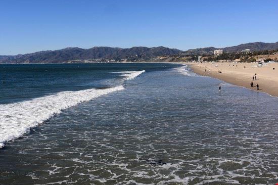santa monica santa monica la spiaggia