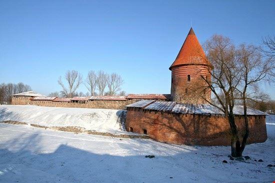 il castello di kaunas e la torre