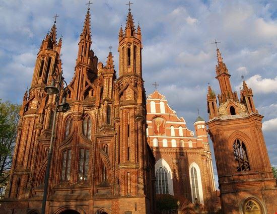 vilnius chiesa di sant  anna