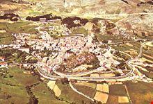 Veduta aerea del paesaggio