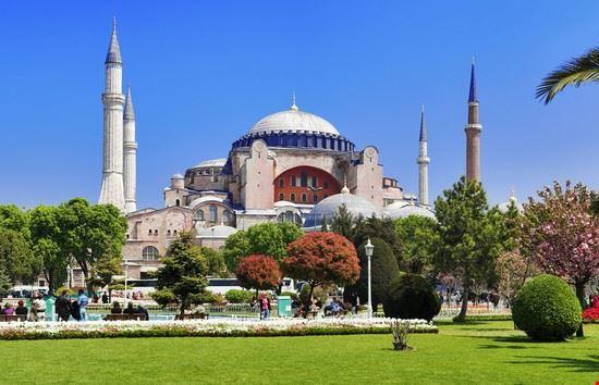 istanbul basilica di santa sofia
