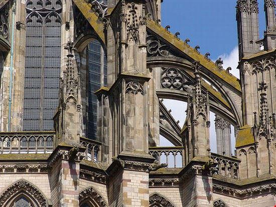 32692 utrecht particolare del domkerk di utrecht