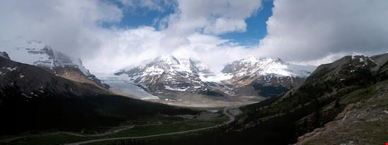 Columbia Icefields Panarama