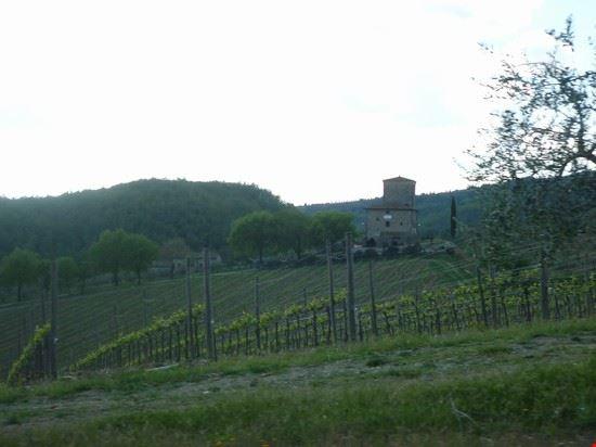 chianti-panorama dal castello d'albola