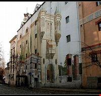 33273 belgrado scorcio artistico nel quartiere skadarlija di belgrado