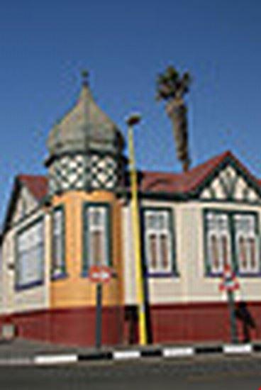 swakopmoud corner colonial style building