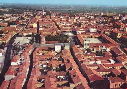 Veduta aerea del centro storico