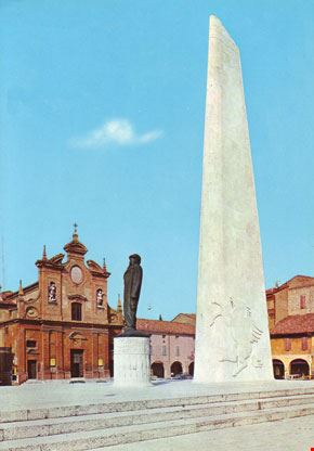 Monumento a Baracca, Chiesa del Suffragio (sec. XVII)