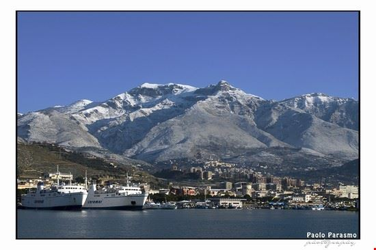Dal mare ai monti innevati...questa è Formia