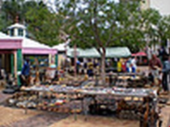 street market in windhoek