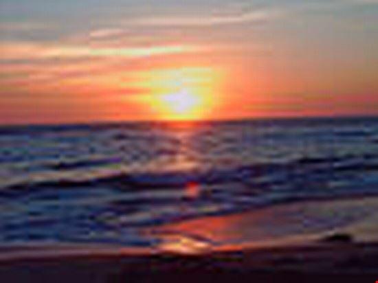 swakopmund beach sunset