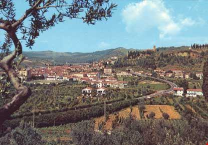 Veduta del centro abitato