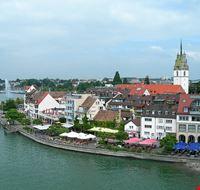 lake to town view friedrichshafen