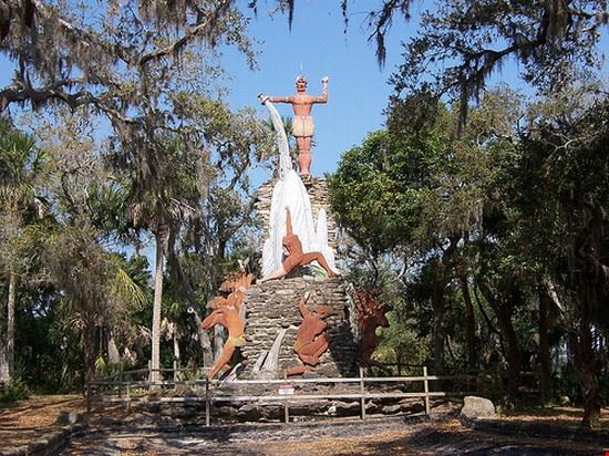 Indian Monument and Tomoka State Park