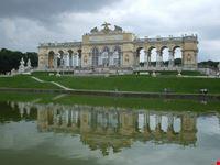 vienna la gloriete punto piu alto del castello di schoenbrunn