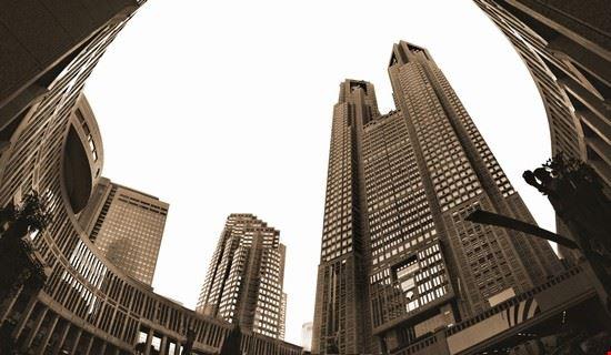 34867 tokyo shinjuku batiment de la mairie