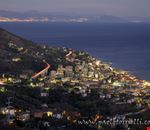 varazze veduta del borgo di cantalupo di notte
