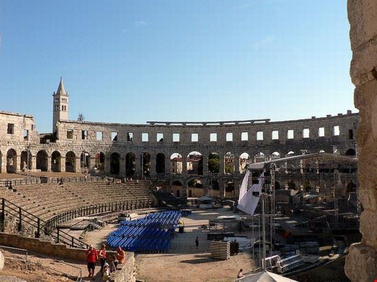 pula amphitheater pula