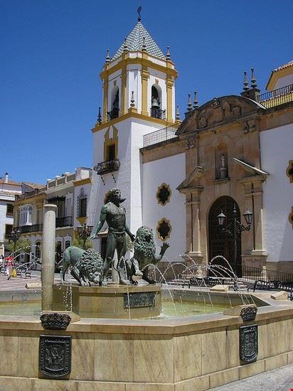 ronda plaza in ronda