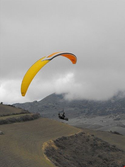 ronda paragliding bei ronda