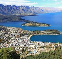 Panoramablick auf Queenstown