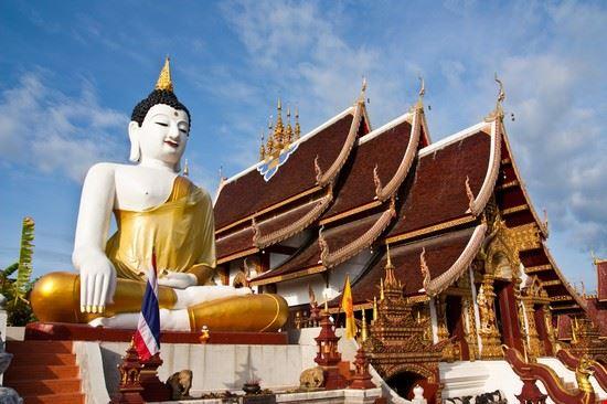 chiang mai einer von 200 tempeln in chiang mai