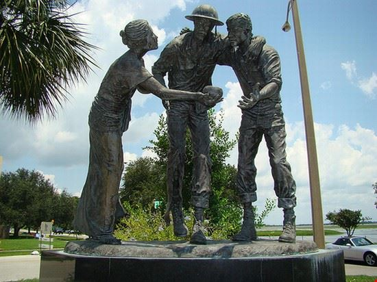The Bataan Corregidor Memorial in Kissimmee